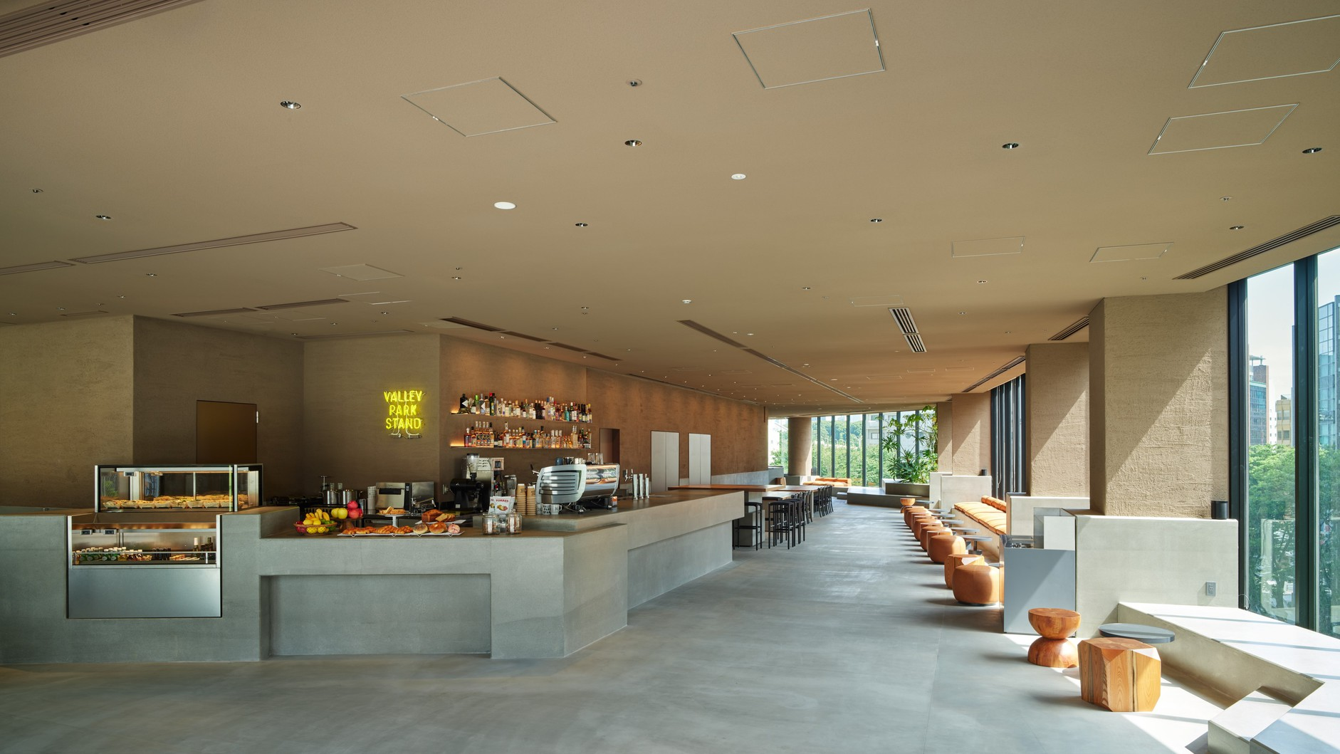 Cafe / VALLEY PARK STAND(4F)