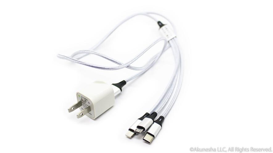 急速充電USBケーブル