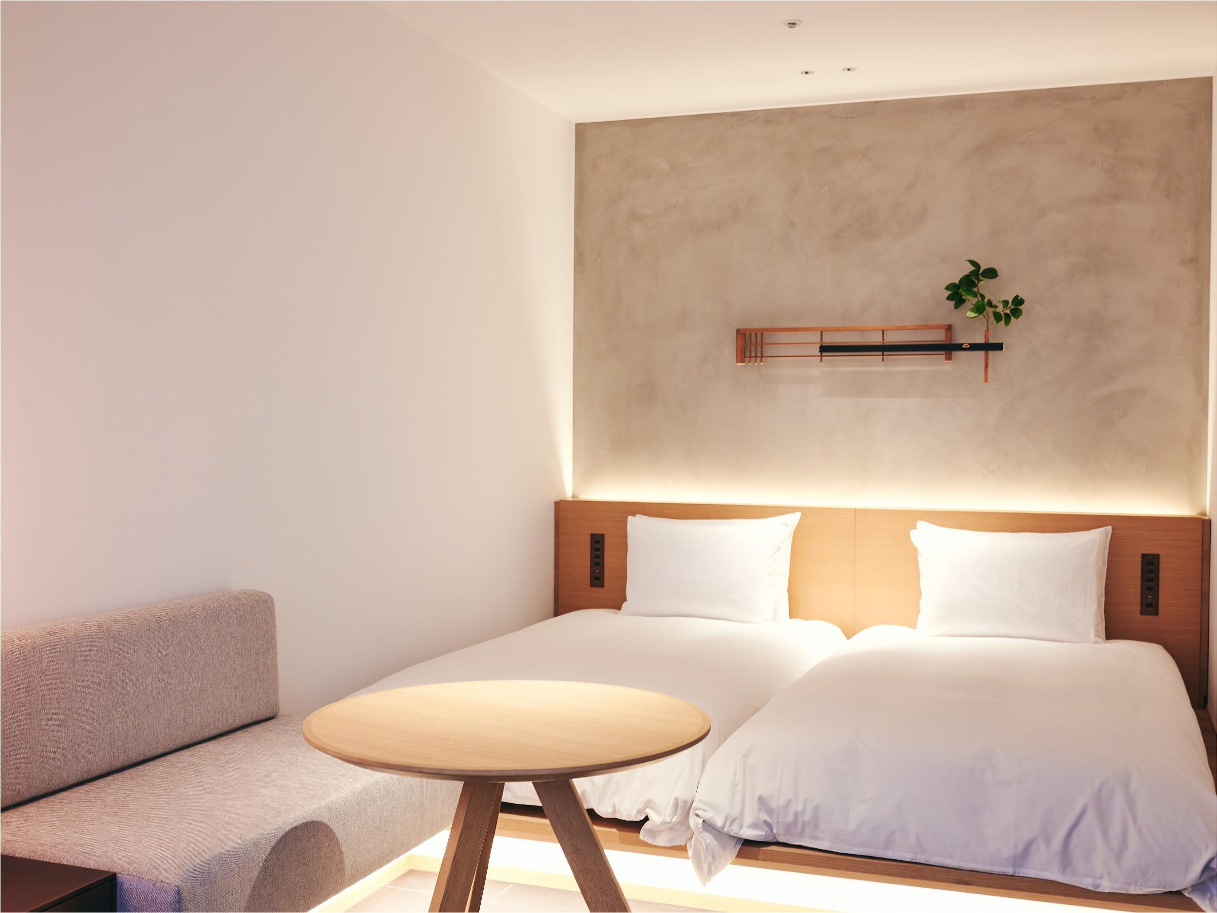 Tsuboyu Superior/コンパクトながらも機能的なお部屋です