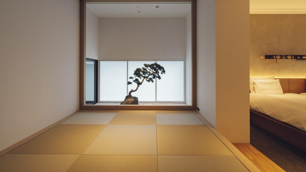 Tsuboniwa Suite/畳の小上がり