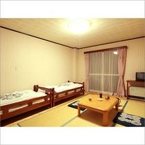 ベッド付きおまかせルームのお部屋イメージです