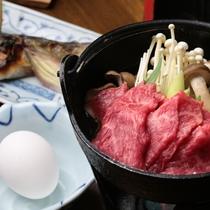 信州牛のすき焼き イメージ