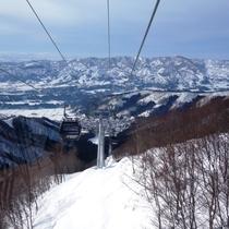 野沢温泉スキー場へGO♪