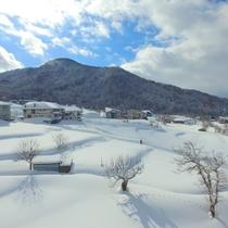 上空からの雪景色♪2017ver