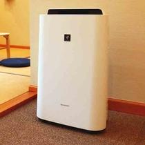 空気清浄機◆各お部屋にご用意しています!