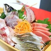 本日の舟盛り◆新鮮な地魚