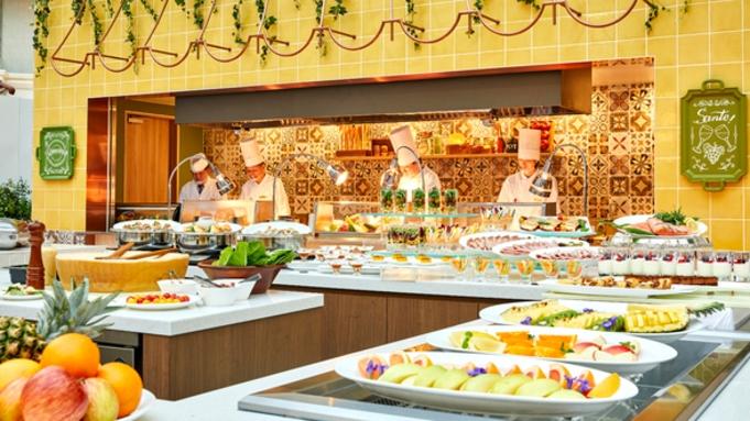 【8・9月限定☆夏セール】品数豊富なホテル自慢の朝食ブッフェをプレゼント!※入園保証なし