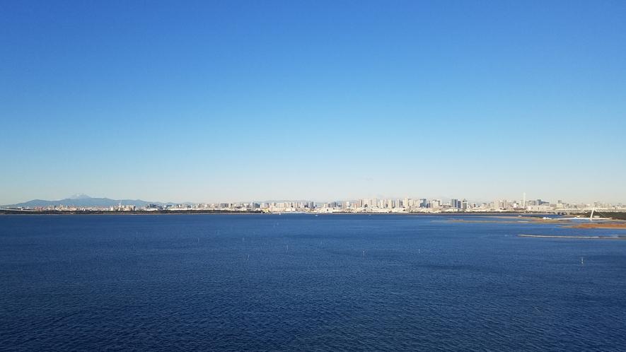 〇東京ベイエリアの雄大な景色(イメージ)