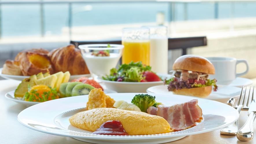〇最高の朝食で、一日のスタートを
