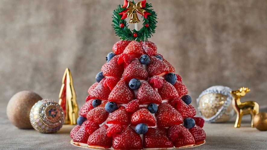 〇クリスマス限定デコレーションケーキ「サパン・フレーズ」(イメージ)