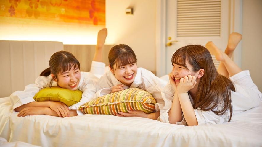 〇お泊まり女子会イメージ