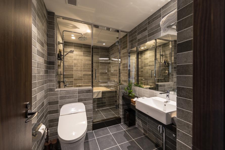 【スーペリアツインルーム】トイレ/洗面所/バスルーム