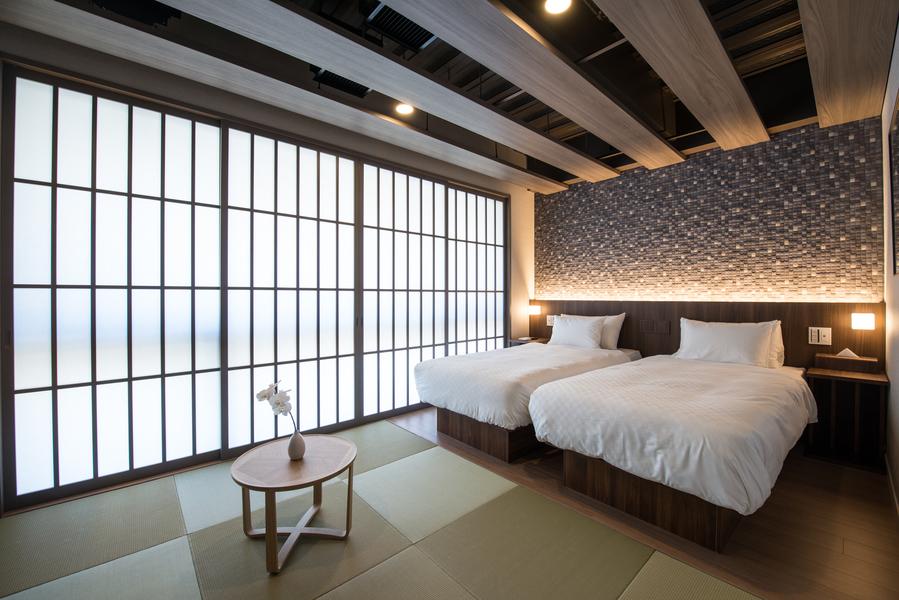 【スーペリアツインルーム】27m2贅沢な空間