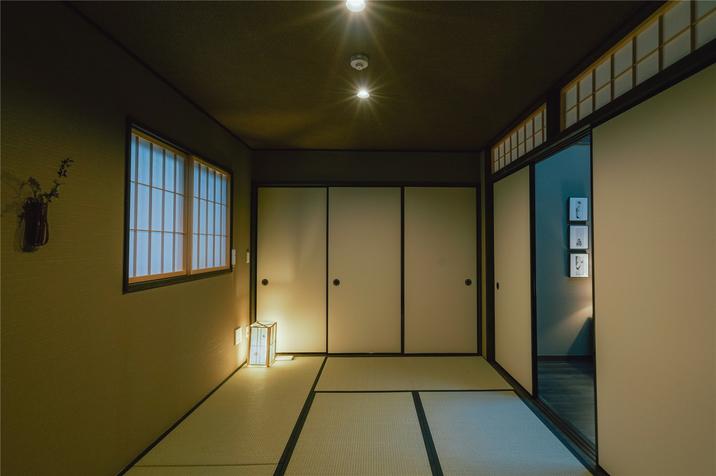 【竹】寝室