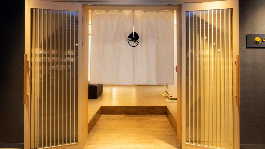 2F温泉大浴場【umi】入り口