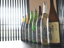 能登の地酒も豊富にそろえています!