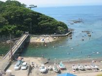 恵比須島海水浴②