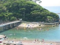 恵比須島海水浴①