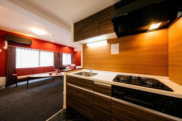 3月グランドオープン☆【お得な長期滞在プラン】3泊以上からご予約可能☆キッチン・家具・家電付きホテル
