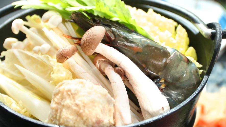 はるる亭特製海鮮定食※小鍋は季節によってない場合もあります。