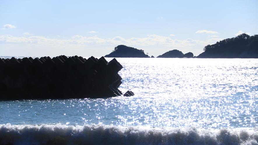 海は宿のすぐそば☆ (2)