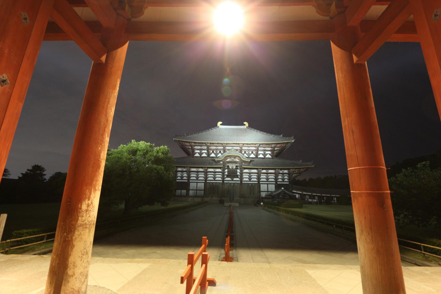 東大寺夜(2)