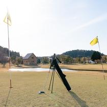 青々した天然芝生、いつも管理が行き届いているので最高のパターゴルフをお楽しみいただけます。