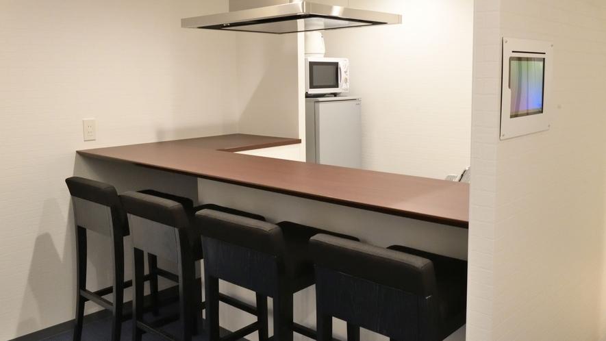 ラグジュアリーファミリーDタイプ オープンキッチン