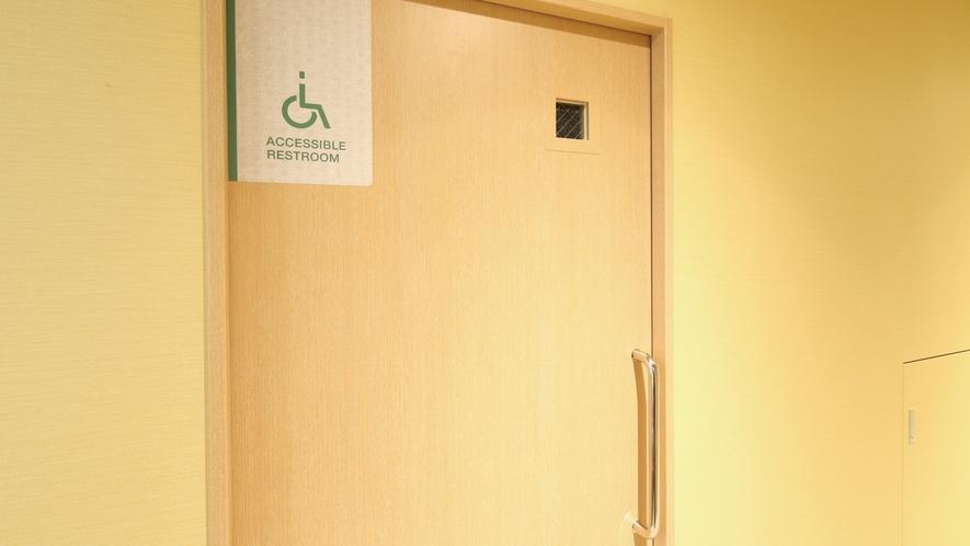 【共用部多目的トイレ看板】