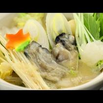 牡蛎の棚田味噌鍋です。