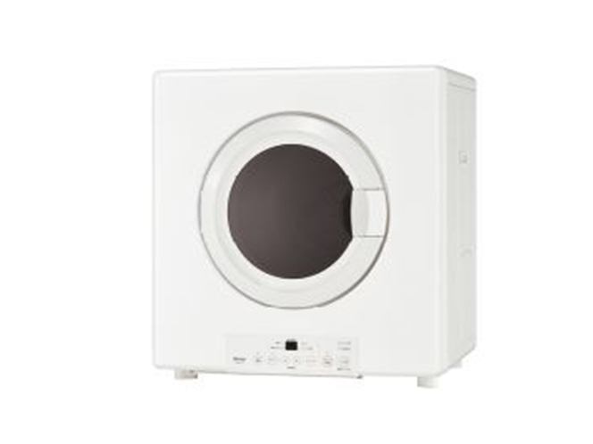 【全室設置】業務用ガス衣類乾燥機は容量5.0kg。スピード乾燥仕様。