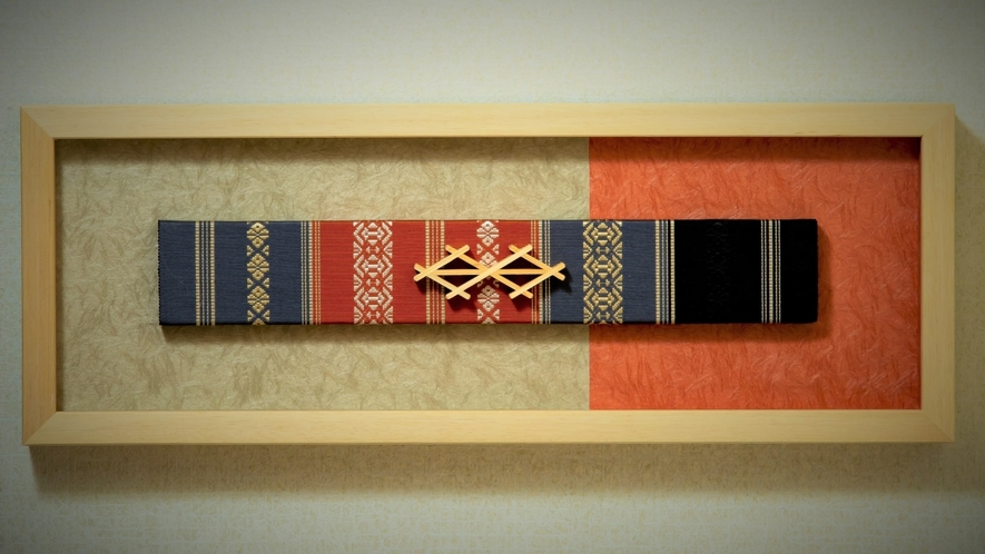 ■福岡県伝統工芸『博多織』の飾り