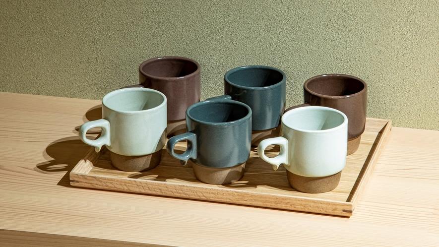 ■波佐見焼のマグカップ