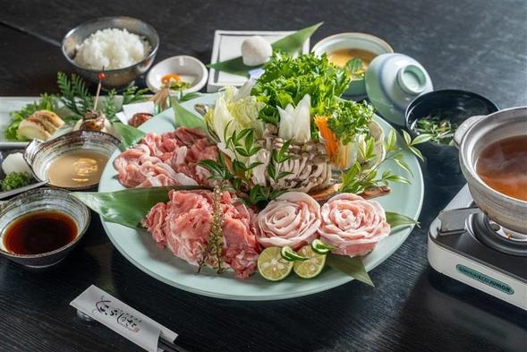 ☆満腹まんぷく☆窪川米豚食べくらべプラン