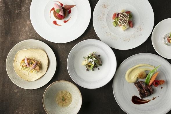【オールデイダイニング「style kitchen」ディナーコース♪】<夕食付・朝食付>