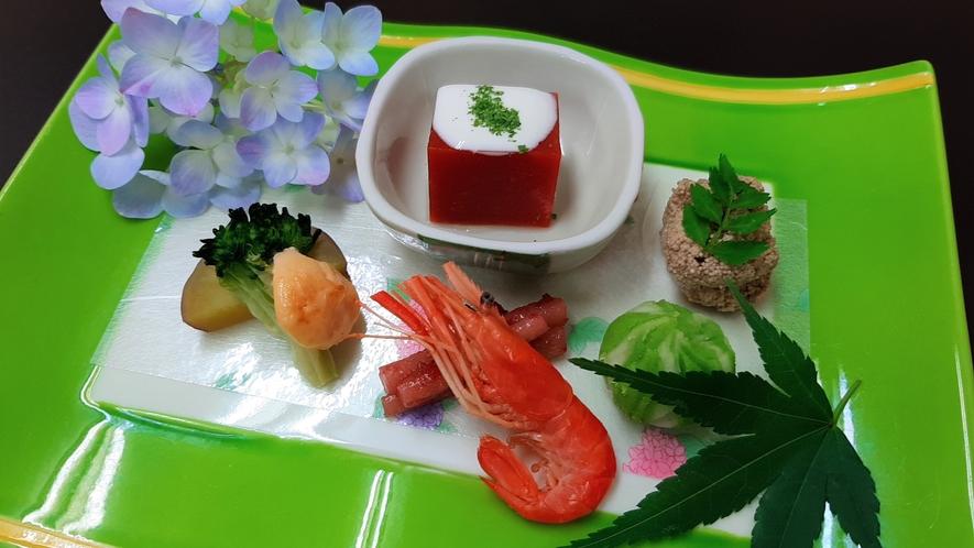 前菜5種盛り(6月)
