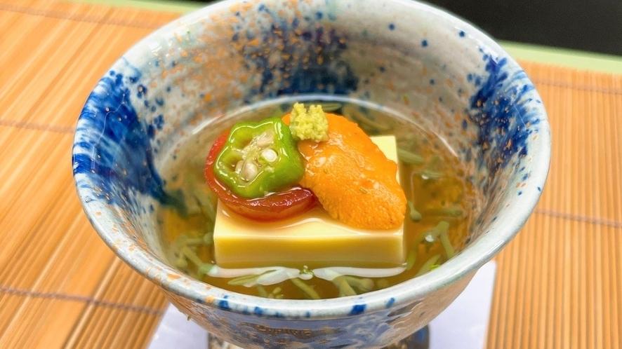 唐黍(とうきび)豆腐