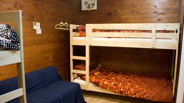 2段ベッド個室 最大4名様