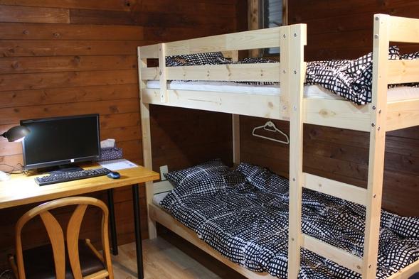 和歌山市宿泊とくとくプラン1名様あたり最大2500円割引済み(うち市補助あり)2段ベッド個室最大4名