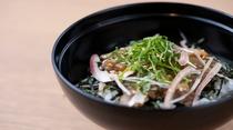 【朝食】◆ご当地 長崎産『アジたたき丼』◆
