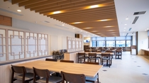 【Hatago】2Fレストラン営業時間 6:30~9:30 (最終入店 9:00) 席数85席
