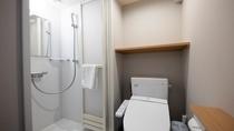 【客室】◆トイレ・シャワーブース