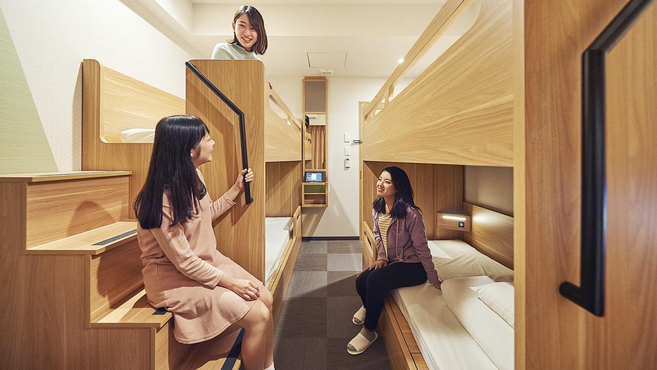 レディースフォースルーム(2段ベッド2台)