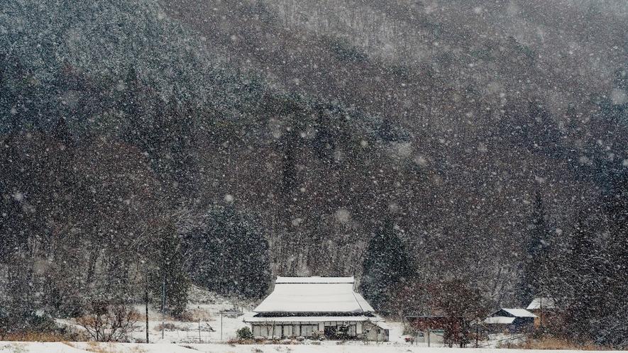 雪のこざこ(奥)