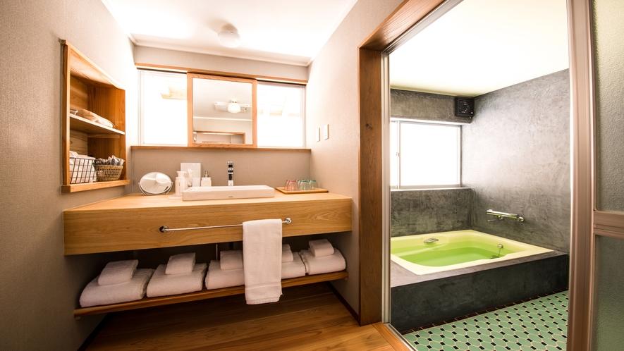 ウォッシュルームと風呂