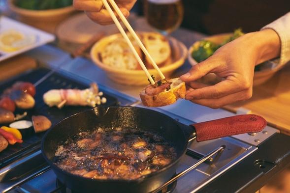 オーシャンビューコテージ 2食付(BBQ)