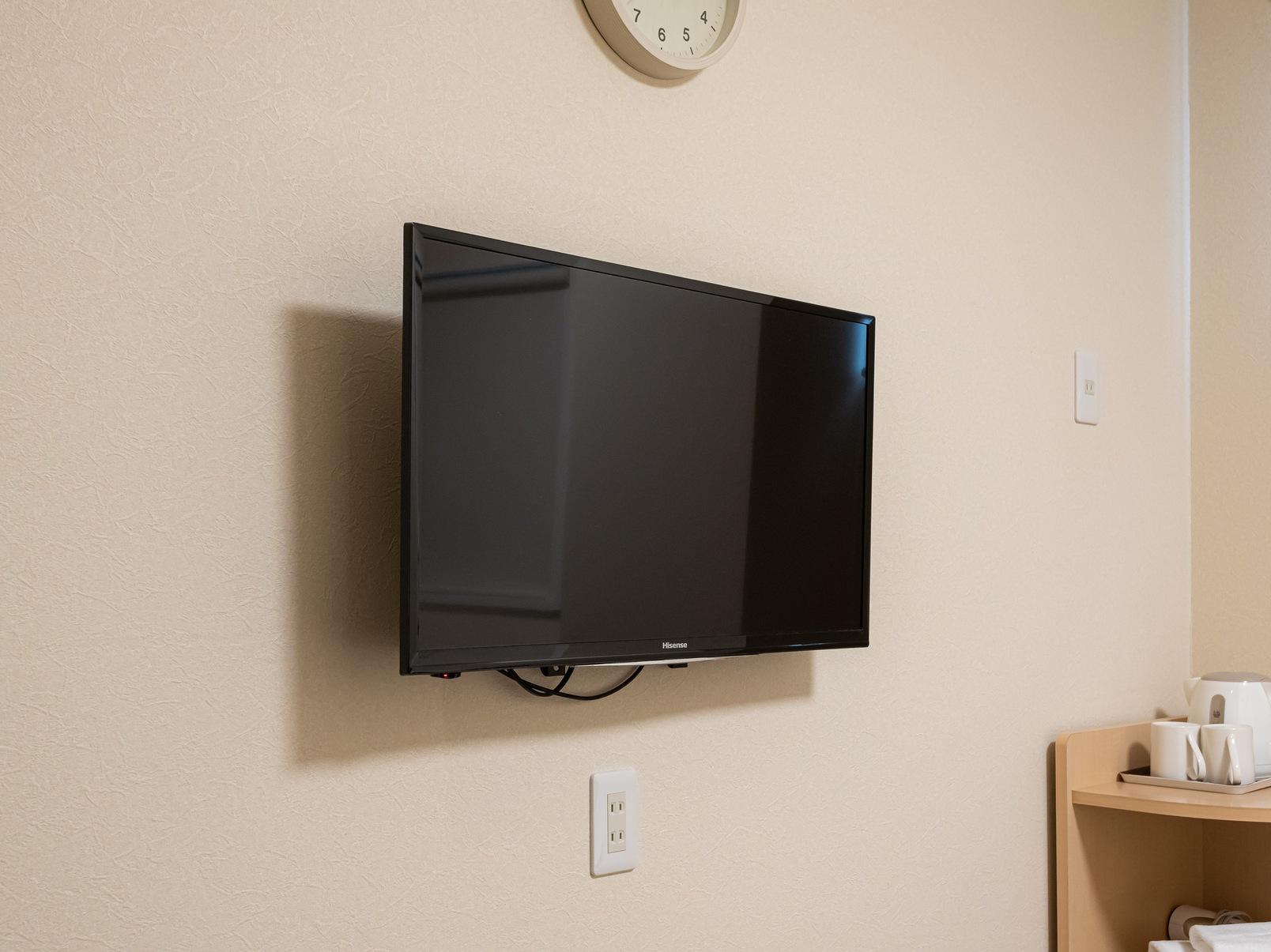 ダブルルーム テレビ