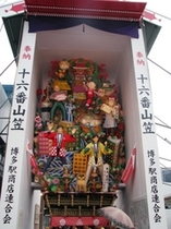 博多祇園山笠・飾り山