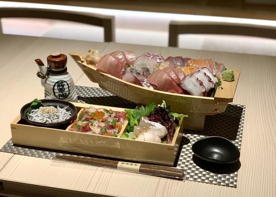 【1泊限定】【部屋食】鮮魚豪華舟盛を堪能しよう!「鎌倉和鮮」〜夕食付プラン〜 ※18時お届け