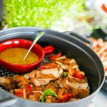 潮風の朝食/食べ過ぎるくらいがちょうど良い。 朝からパワーチャージ。種類も豊富なお肉料理が登場!